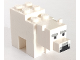 Part No: minebear01  Name: Minecraft Polar Bear Baby - Complete Assembly