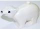 Part No: polarc01pb02  Name: Duplo Bear Polar Adult, Squared Eyes