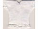 Part No: scl080  Name: Scala, Clothes Female Blouse with Short Sleeves, Bottom Trim