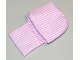 Part No: sleepbag09  Name: Duplo Cloth Sleeping Bag with Pink Stripes Pattern