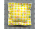 Part No: x23pb01  Name: Scala Cloth Pillow Small with Checks and Cherries Pattern