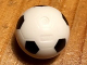 Part No: x45pb07  Name: Sports Soccer Ball with Standard Pattern, No Black Pentagon at Injection Point
