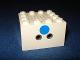 Part No: x869a  Name: Electric, Train 4.5V Microphone 4 x 4 x 2 with Horizontal Plug Sockets
