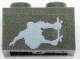 Part No: 3004pb038  Name: Brick 1 x 2 with Gravity Games Skateboarder Pattern (Sticker) - Set 3535