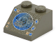 Part No: 3039px8  Name: Slope 45 2 x 2 with Blue/Copper Radar Display Pattern