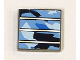 Part No: 3068bpb0208  Name: Tile 2 x 2 with Groove with Solar Panel Pattern (Sticker) - Set 7469