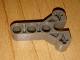 Part No: 43464  Name: Technic, Steering Arm 3 x 4 T-Shape with 3 Pin Holes and 2 Axle Holes (part of 6282c01 steering unit)