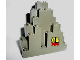Part No: 6083pb06  Name: Rock Panel 3 x 8 x 7 Triangular (LURP) with Fish Pattern Lower Right (Sticker) - Set 6559