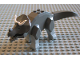 Part No: Tricera02  Name: Dinosaur, Triceratops with Light Gray Legs
