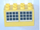 Part No: 31111pb028  Name: Duplo, Brick 2 x 4 x 2 with Windows Pattern