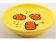 Part No: 31333pb05  Name: Duplo Utensil Dish with 3 Pumpkins and Stars Pattern