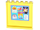 Part No: 59349pb083  Name: Panel 1 x 6 x 5 with 'HLC' Bulletin Board Pattern on Inside (Sticker) - Set 41005