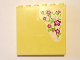 Part No: 59349pb112  Name: Panel 1 x 6 x 5 with Magenta Hibiscus Flowers on Outside and Hanging Kitchen Utensils on Inside Pattern (Stickers) - Set 41037