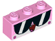 Part No: 3622pb082  Name: Brick 1 x 3 with Cat Face Wide Sunglasses, Open Mouth with Tongue Pattern (Shades Unikitty)