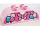 Part No: 98223pb017  Name: Duplo, Brick 2 x 4 Curved Top with Awning, Balloons, and Minnie Mouse Bow Pattern