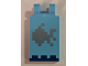 Part No: 30350bpb062  Name: Tile, Modified 2 x 3 with 2 Clips with Minecraft Fish and Sea Floor Pattern
