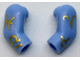 Part No: 981982pb118  Name: Arm, (Matching Left and Right) Pair with Gold Zodiac Symbols Pattern