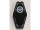 Part No: 10304pb01  Name: Container, Coffin Lid with White Bat Pattern