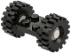 Part No: 122c02assy3  Name: Plate, Modified 2 x 2 with Wheels White, with Black Tires Offset Tread Medium (122c02 / 4084)