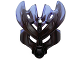 Part No: 19149pb02  Name: Bionicle Mask Protector with Marbled Trans-Purple Pattern (Protector Mask of Earth)