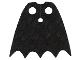 Part No: 19185  Name: Minifigure, Cape Cloth, Scalloped 5 Points (Batman) - Spongy Stretchable Fabric