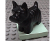 Part No: 2299c02pb01  Name: Duplo Dog Scottish Terrier (Scottie) on Light Green Base