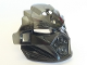 Part No: 24154pb01  Name: Bionicle Mask of Earth (Unity) with Marbled Flat Silver Pattern