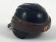 Part No: 24496pb09  Name: Minifig, Headgear Ninjago Wrap Type 3 with Dark Brown Bandana and Knot and Orange Asian Symbol Pattern