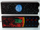 Part No: 2454pb025  Name: Brick 1 x 2 x 5 with Alderaan / Yavin 4 '00:15:10' Viewscreens Pattern (Stickers) - Set 10188
