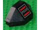 Part No: 2468pb02  Name: Panel 3 x 3 x 6 Corner Convex with Space Police I Logo Pattern Left
