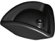 Part No: 2544  Name: Minifigure, Headgear Hat, Pirate Tricorne / Triangle
