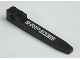 Part No: 2823pb02R  Name: Technic Forklift Fork with 'SHARP EDGES' Right Pattern (Sticker) - Set 7709