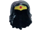 Part No: 29560pb01  Name: Mini Doll, Hair Friends Long Wavy with Gold Tiara and Red Star Pattern (Wonder Woman)