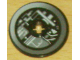 Part No: 2958pb018  Name: Technic, Disk 3 x 3 with Machinery Pattern 1 (Sticker) - Set 4504