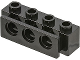 Part No: 2989  Name: Technic, Brick 1 x 4 with Bumper Holder