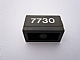 Part No: 3004pb100  Name: Brick 1 x 2 with White '7730' Pattern (Sticker) - Set 7730