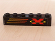 Part No: 3009pb072R  Name: Brick 1 x 6 with X-Treme Team Logo Right Pattern (Sticker) - Set 6567