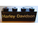 Part No: 3010pb004  Name: Brick 1 x 4 with 'Harley-Davidson' Pattern (Sticker) - Set 394