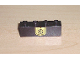 Part No: 3010pb017  Name: Brick 1 x 4 with Black Dollar Sign on Yellow Badge Pattern