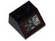 Part No: 3039pb080  Name: Slope 45 2 x 2 with SW Landspeeder Control Panel Pattern (Sticker) - Set 75052