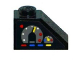 Part No: 3040pb007R  Name: Slope 45 2 x 1 with Gauges Pattern Right (Sticker) - Set 8286