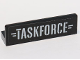 Part No: 30413pb056  Name: Panel 1 x 4 x 1 with 'TASKFORCE' Pattern (Sticker) - Set 76047