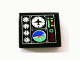 Part No: 3068bpb0154  Name: Tile 2 x 2 with Gauges and Airplane and Horizon Screen Pattern (Sticker) - Set 8412