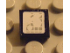 Part No: 3070bpb040  Name: Tile 1 x 1 with Headlight Pattern (Sticker) - Set 8858-1