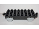 Part No: 31507c01  Name: Duplo, Train Base 4 x 8 with Pearl Light Gray Train Wheels and Moveable Hook