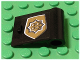 Part No: 3188pb003  Name: Door 1 x 3 x 2 Right with World City Gold Police Badge Pattern (Sticker) - Set 7034