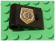 Part No: 3189pb003  Name: Door 1 x 3 x 2 Left with World City Gold Police Badge Pattern (Sticker) - Set 7034