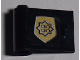 Part No: 3189pb007  Name: Door 1 x 3 x 2 Left with Small World City Gold Police Badge Pattern (Sticker) - Set 7033