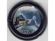 Part No: 32171pb034  Name: Throwbot Disk, Jet / Judge, 5 pips, shooting beam at other 'bot Pattern