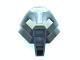 Part No: 32573pb01  Name: Bionicle Mask Huna with Pearl Light Gray Top (Tehutti)